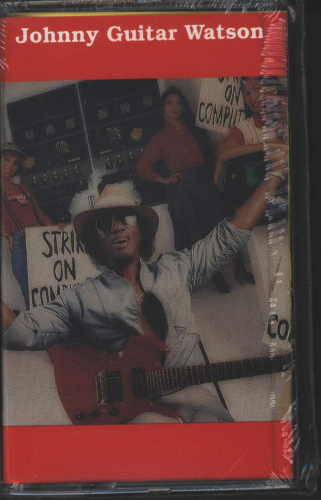 Johnny Guitar Watson: Strike On Computers, Tape