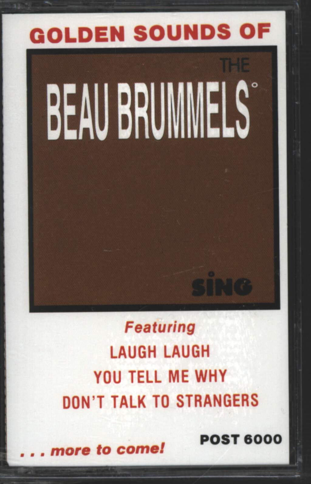 The Beau Brummels: The Beau Brummels Sings, Tape