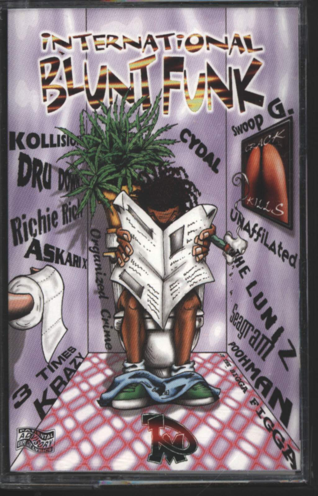 Various: International Blunt Funk Compilation, Tape