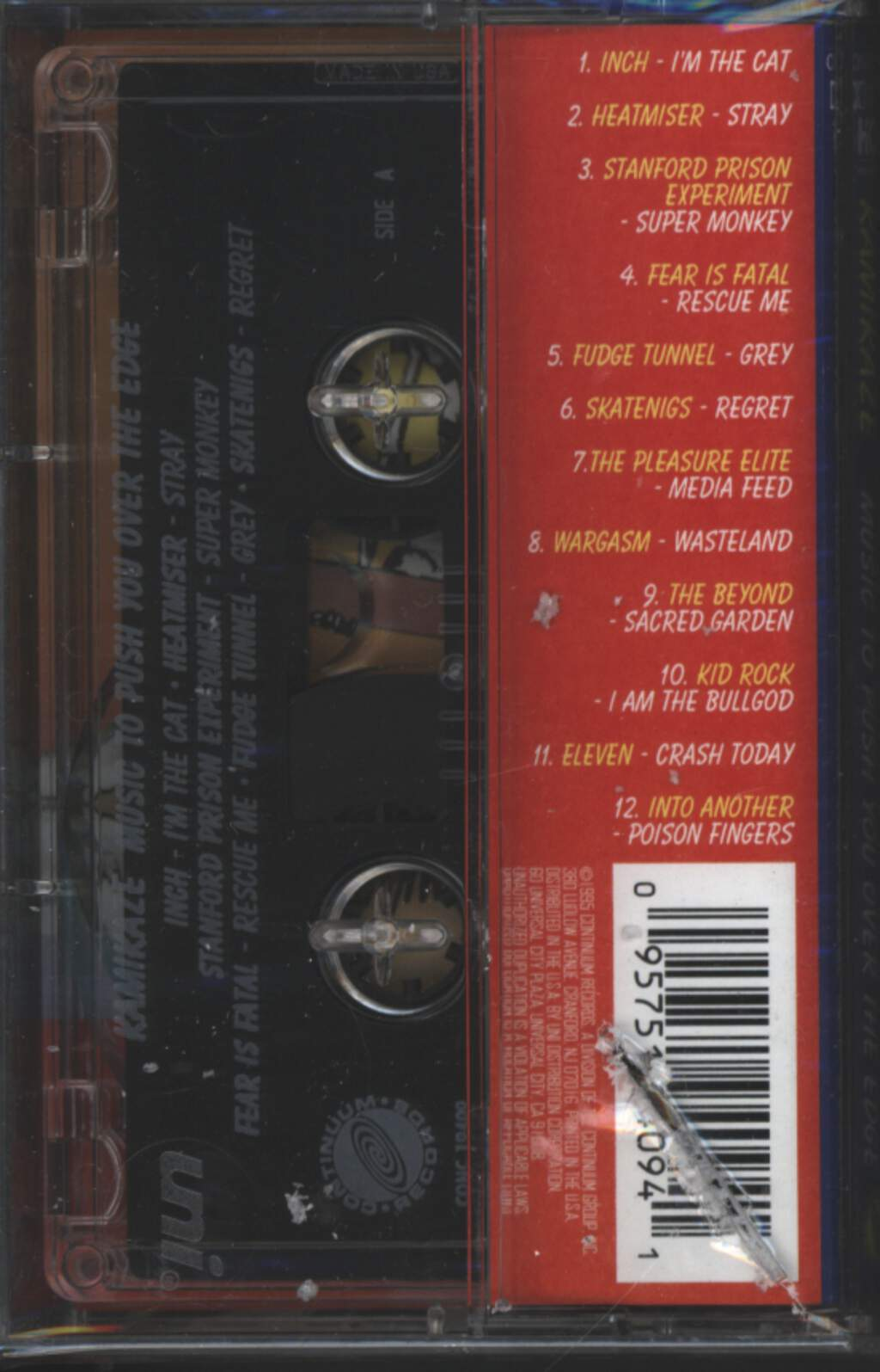 Various: Kamikaze - Music To Push You Over The Edge, Tape