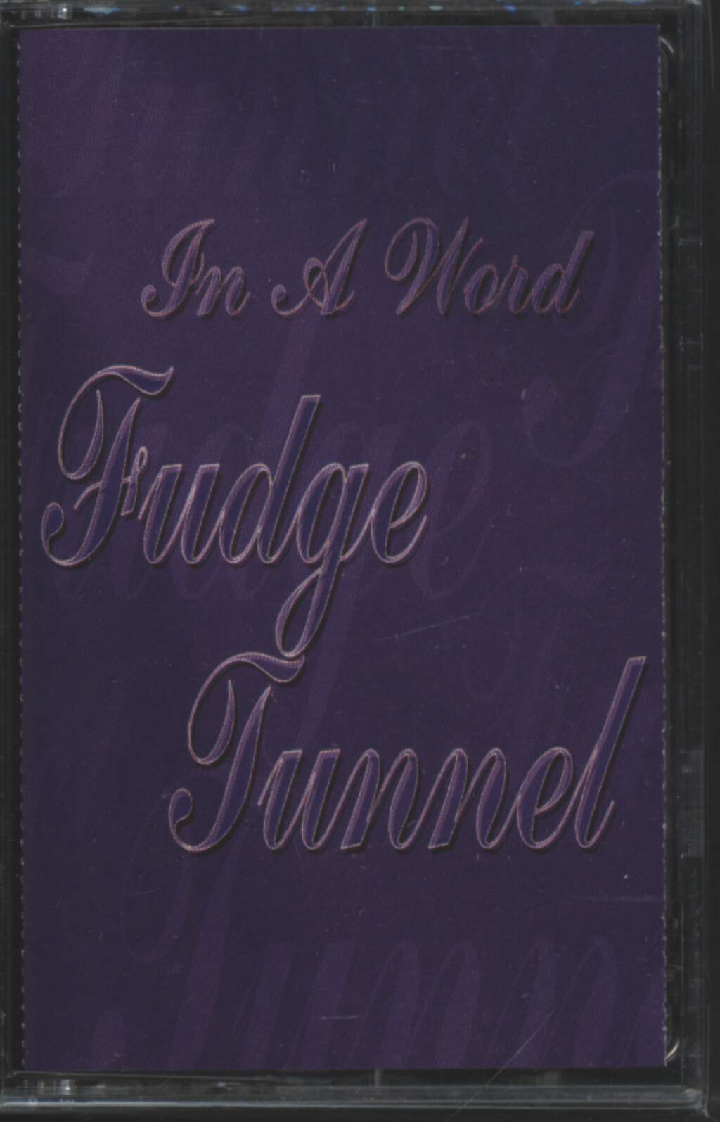 Fudge Tunnel: In A Word, Tape