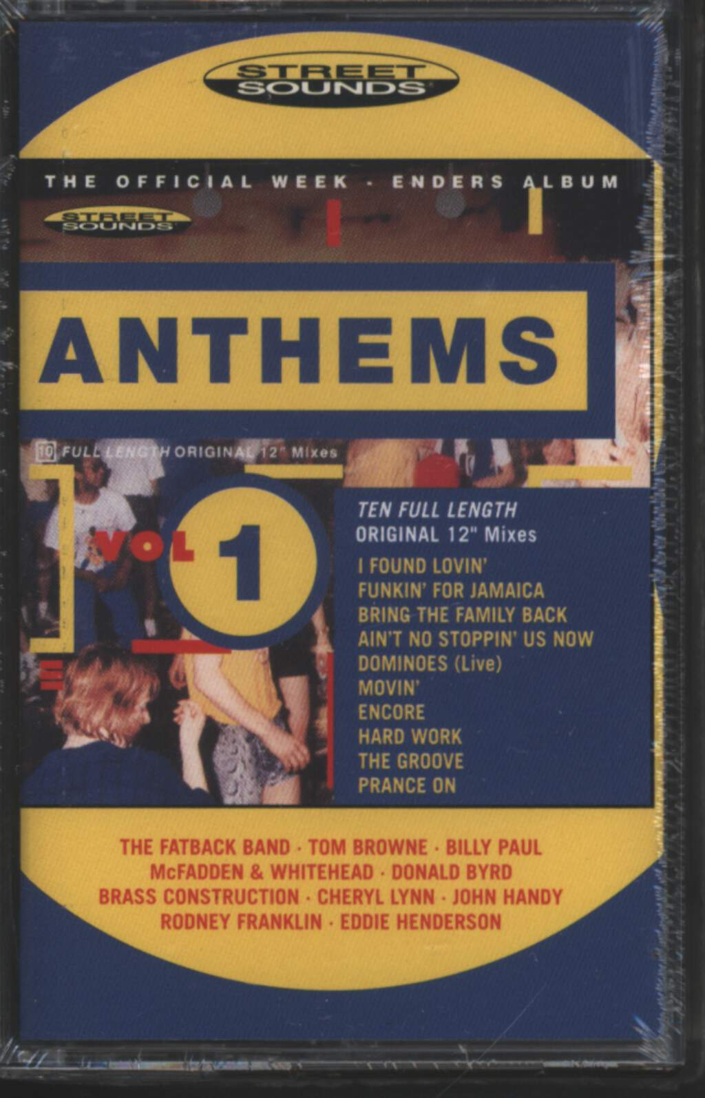 Various: Anthems Volume 1, Tape