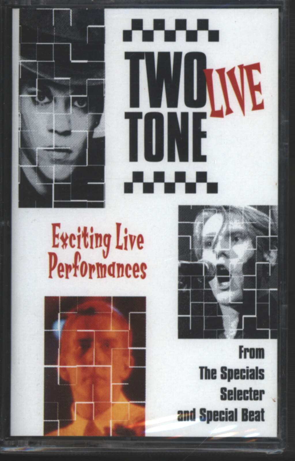 The Specials: Two Tone Live. Exciting Live Performances., Tape