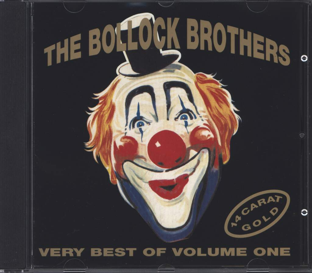 The Bollock Brothers: 14 Carat Gold - Very Best Of Volume One, CD
