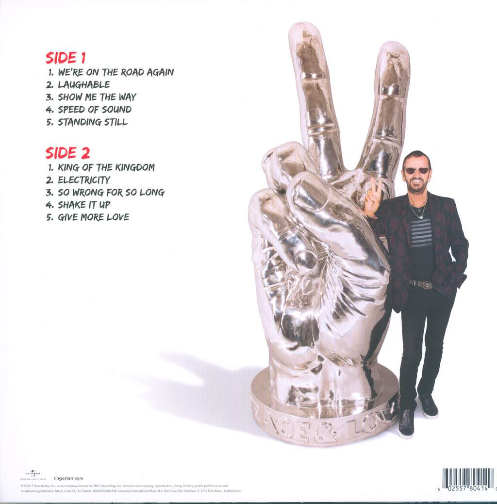 Ringo Starr: Give More Love, LP (Vinyl)