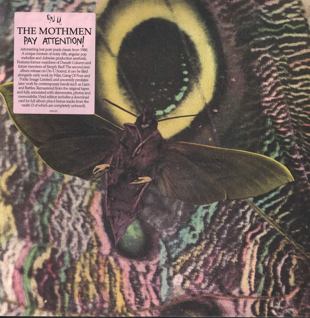 The Mothmen: Pay Attention!, LP (Vinyl)