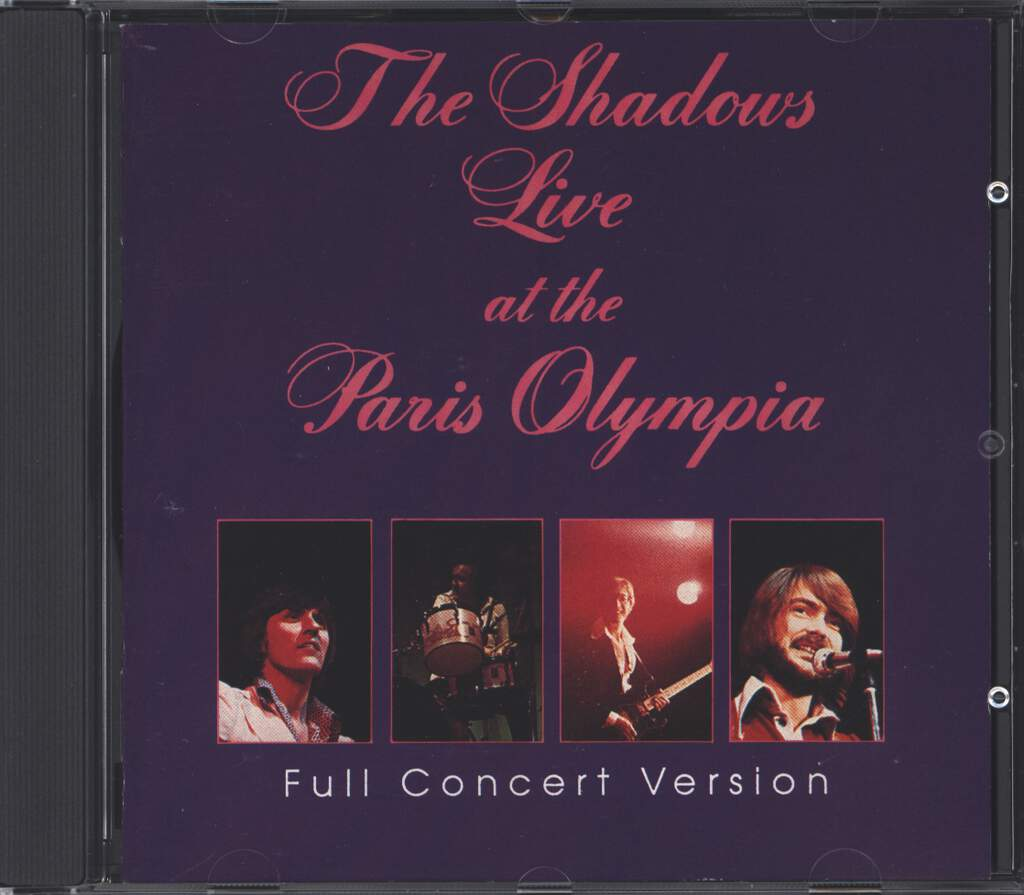 The Shadows: Live At The Paris Olympia, CD