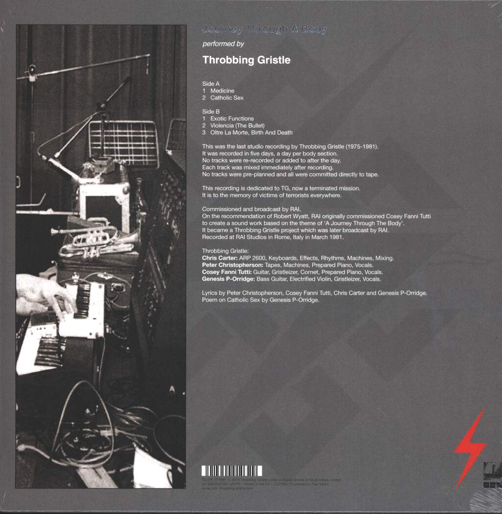 Throbbing Gristle: Journey Through A Body, LP (Vinyl)