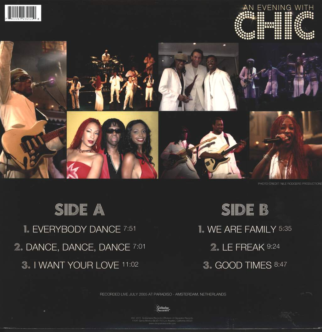 Chic: An Evening With Chic, LP (Vinyl)