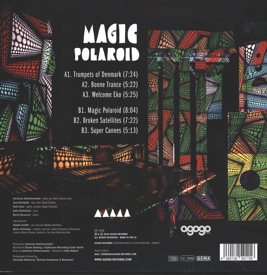 Onom Agemo And The Disco Jumpers: Magic Polaroid, LP (Vinyl)
