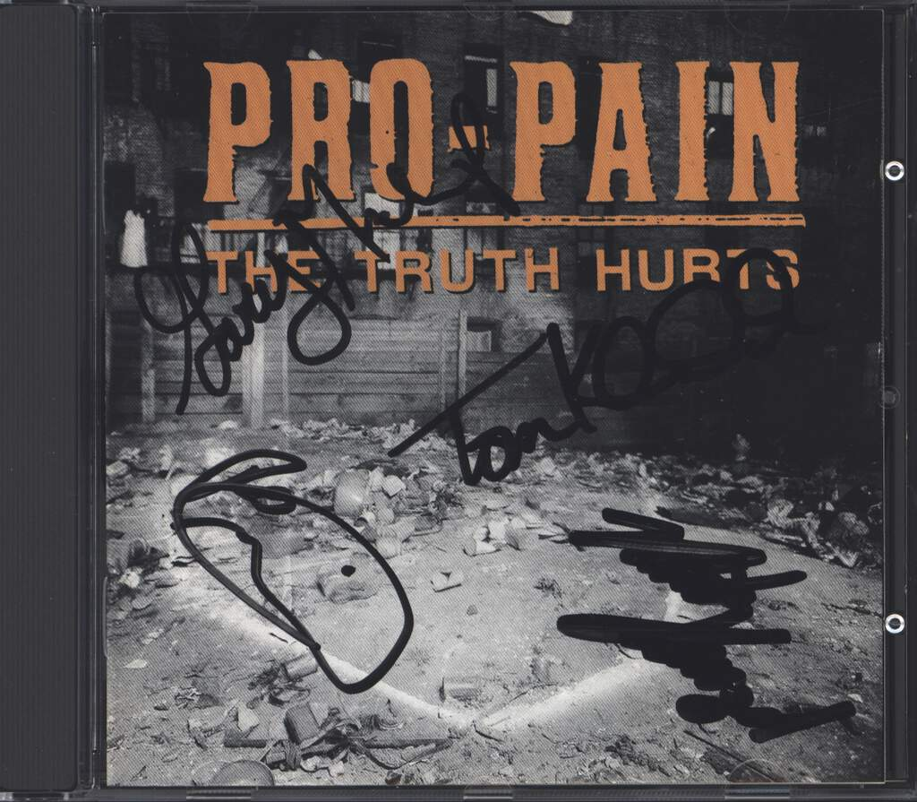 Pro-Pain: The Truth Hurts, CD