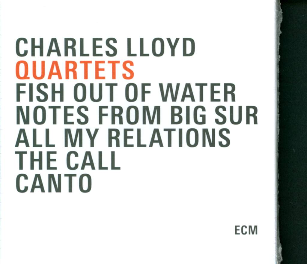 Charles Lloyd: Quartets, 5×CD