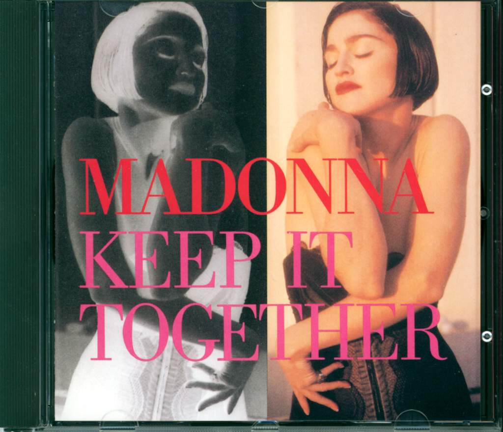 Madonna: Keep It Together, CD