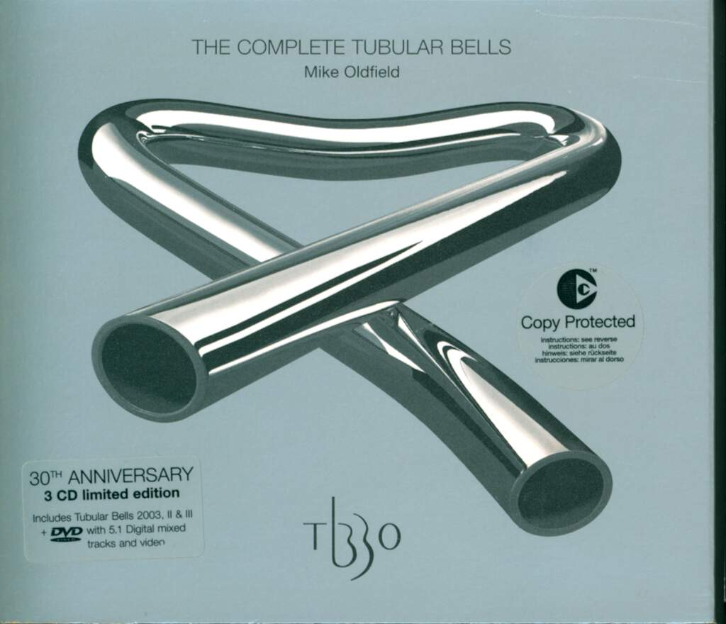 Mike Oldfield: The Complete Tubular Bells, 4×CD