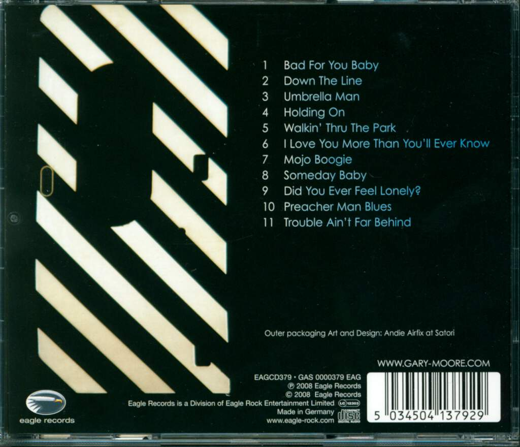 Gary Moore: Bad For You Baby, CD
