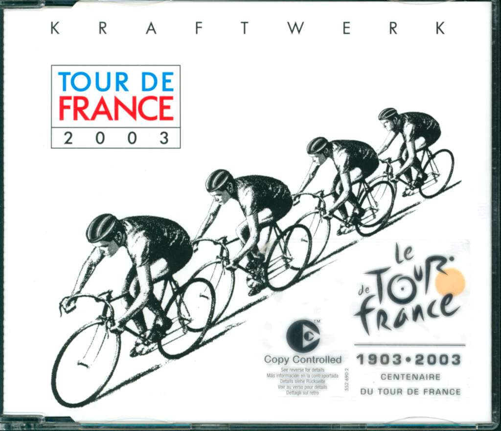 Kraftwerk: Tour De France 2003, Mini CD