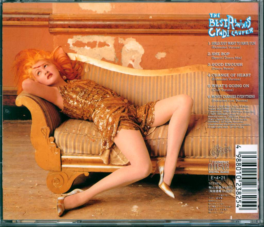Cyndi Lauper: The Best Remixes, CD