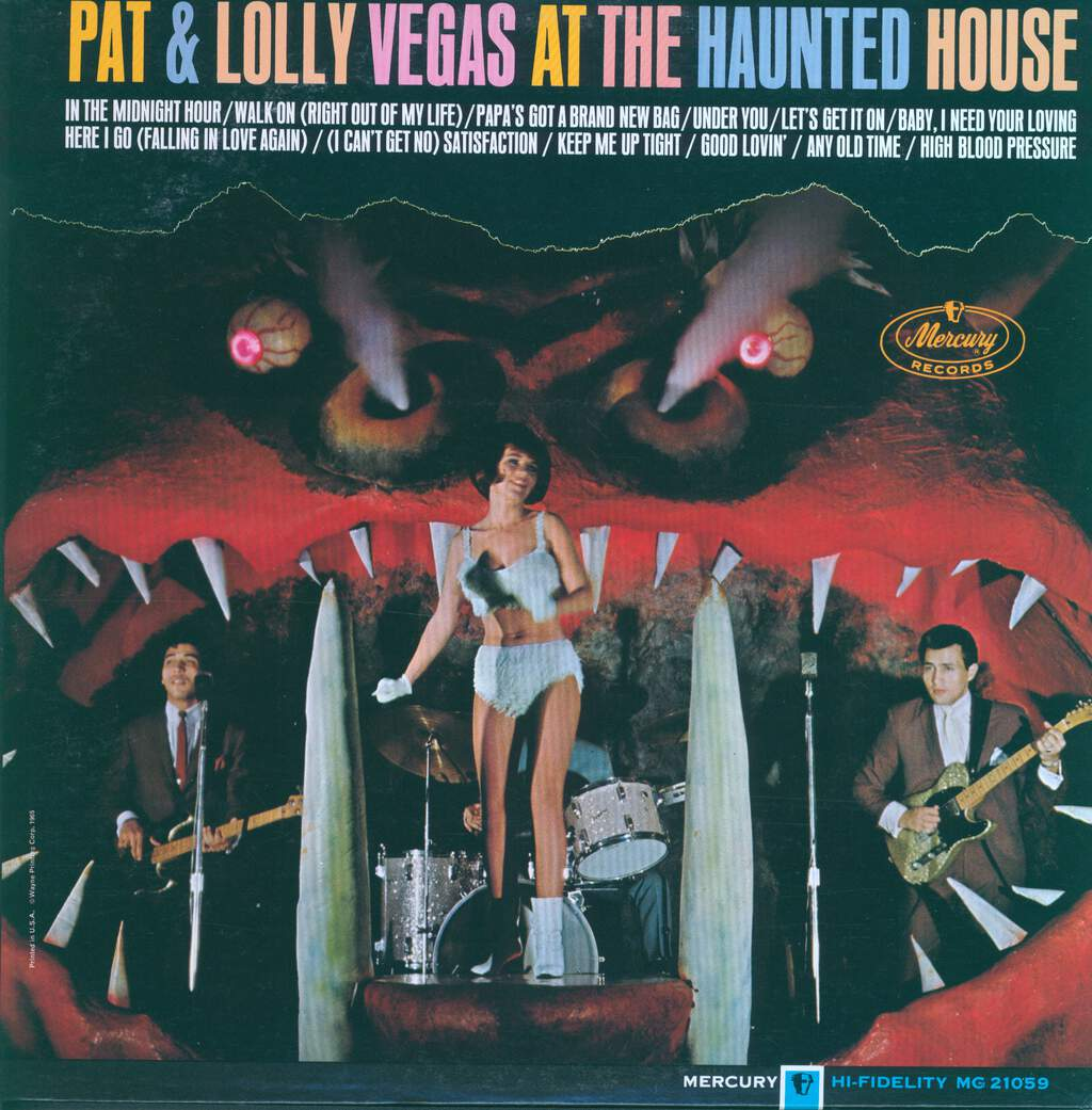 Pat And Lolly Vegas: At The Haunted House, LP (Vinyl)