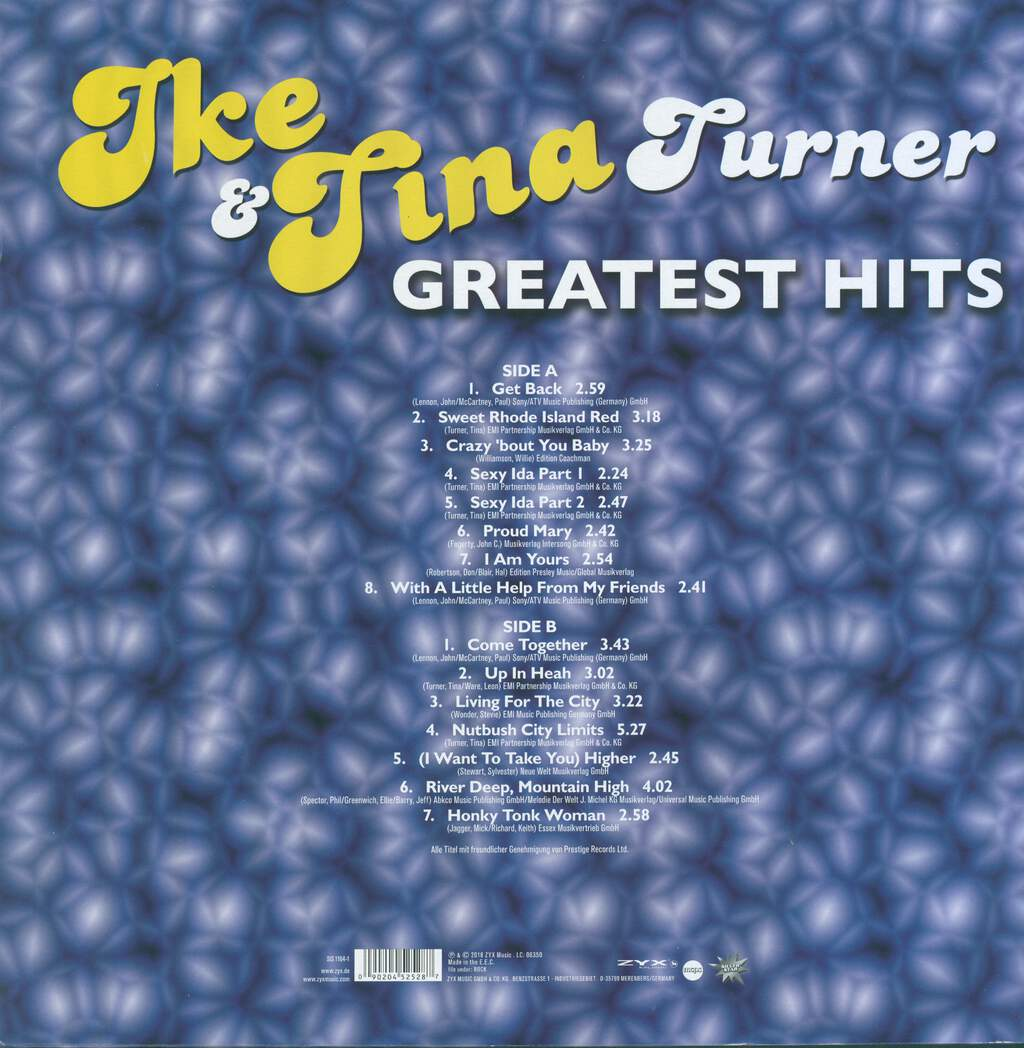 Ike & Tina Turner: Greatest Hits, LP (Vinyl)