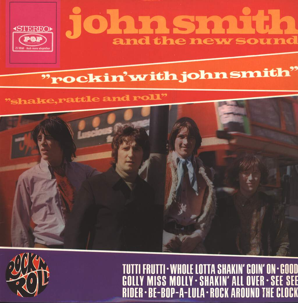 John Smith And The New Sound: Rockin' With John Smith (Shake, Rattle And Roll), LP (Vinyl)