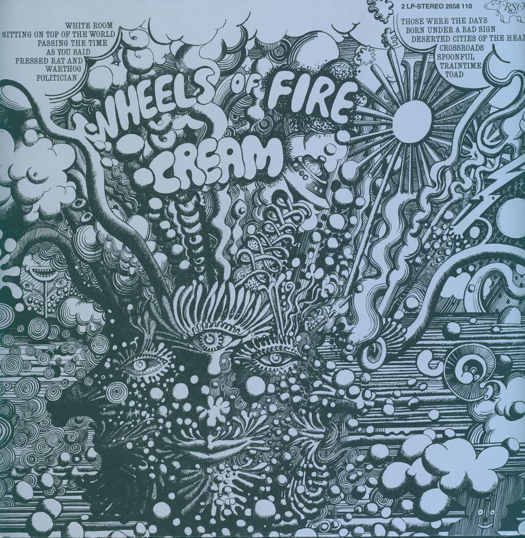 Cream: Wheels Of Fire, 2×LP (Vinyl)