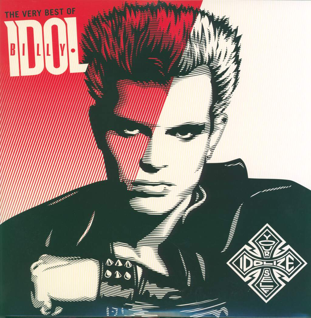 Billy Idol: The Very Best Of - Idolize Yourself, 2×LP (Vinyl)