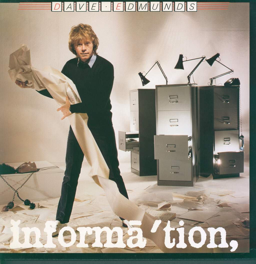 Dave Edmunds: Information, LP (Vinyl)