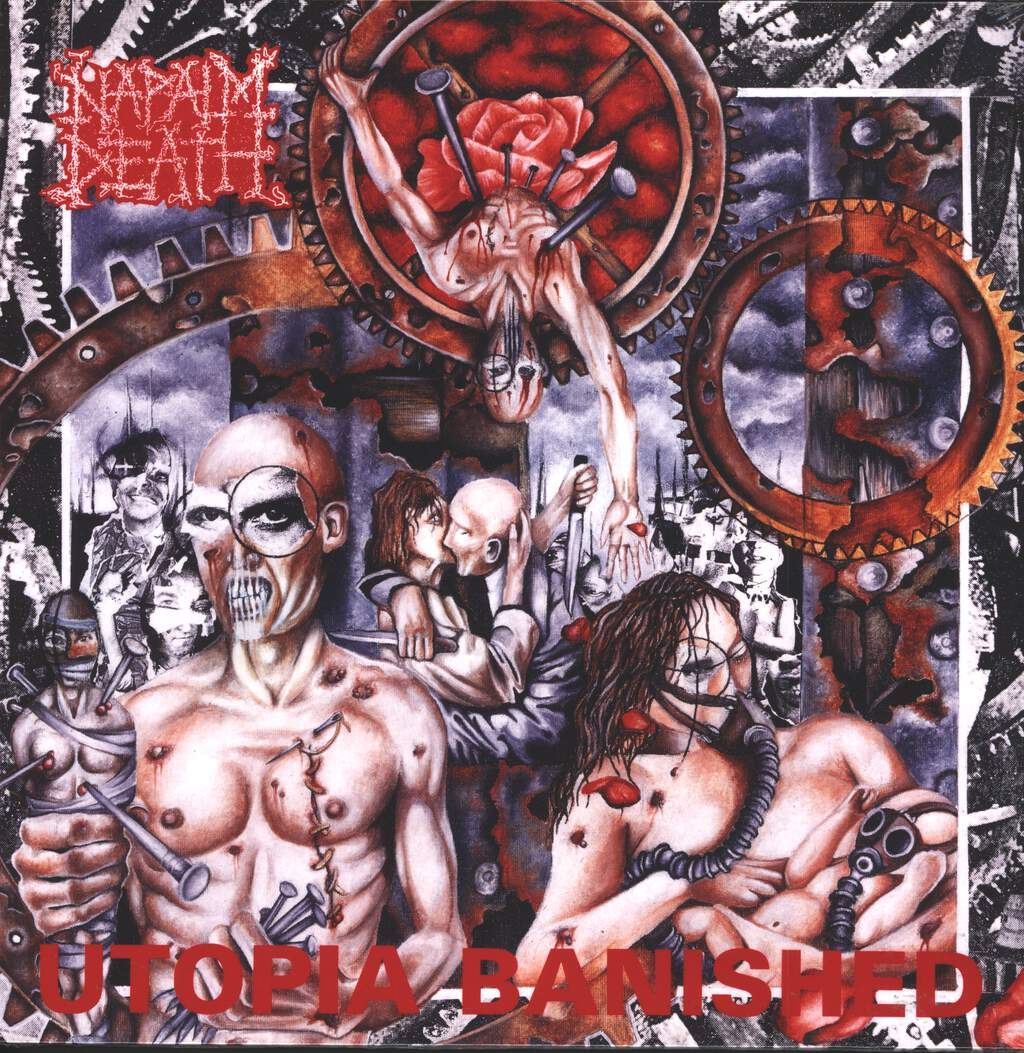 Napalm Death: Utopia Banished, LP (Vinyl)