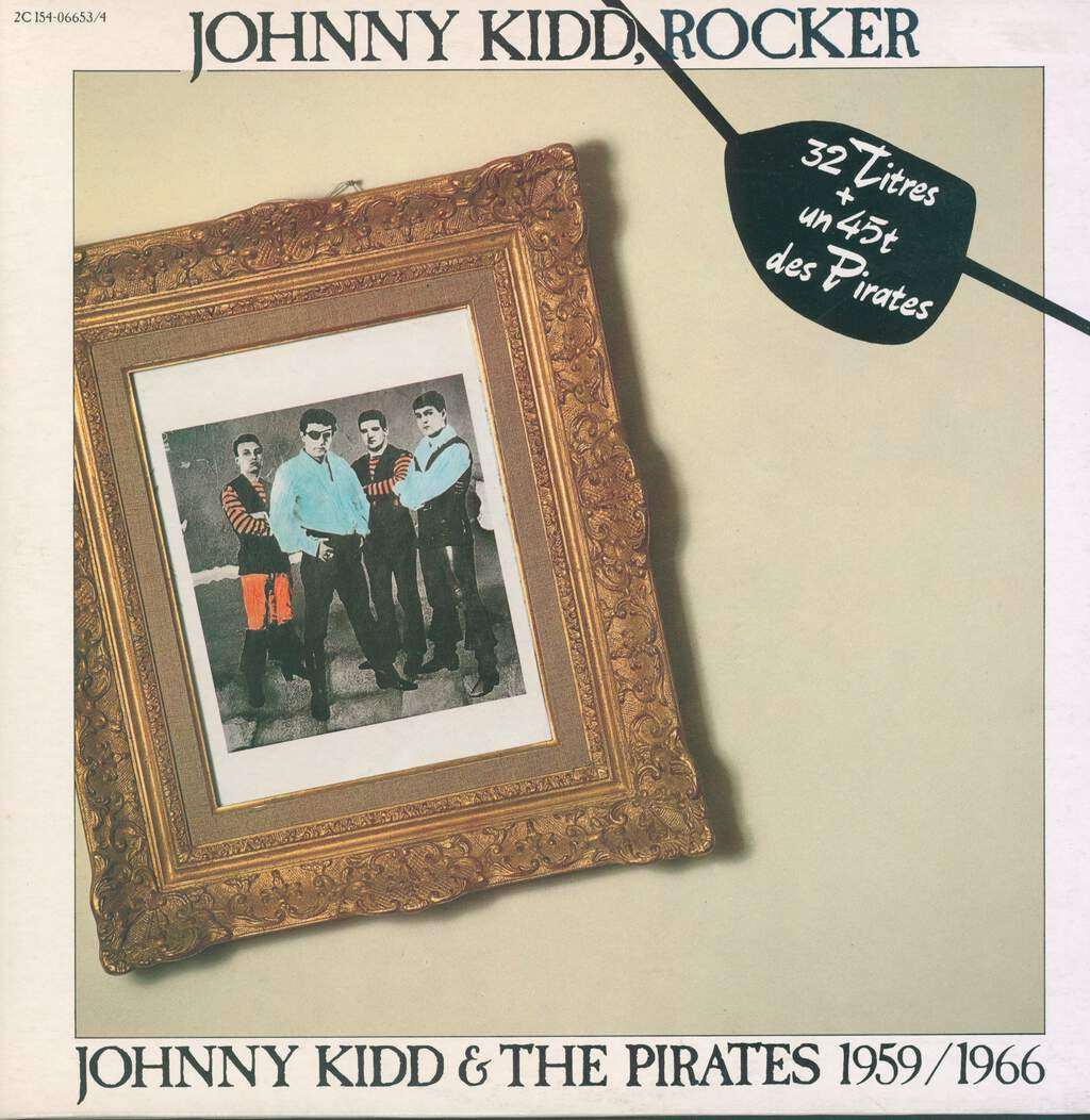 Johnny Kidd & The Pirates: Johnny Kidd, Rocker - 1959/1966, 2×LP (Vinyl)