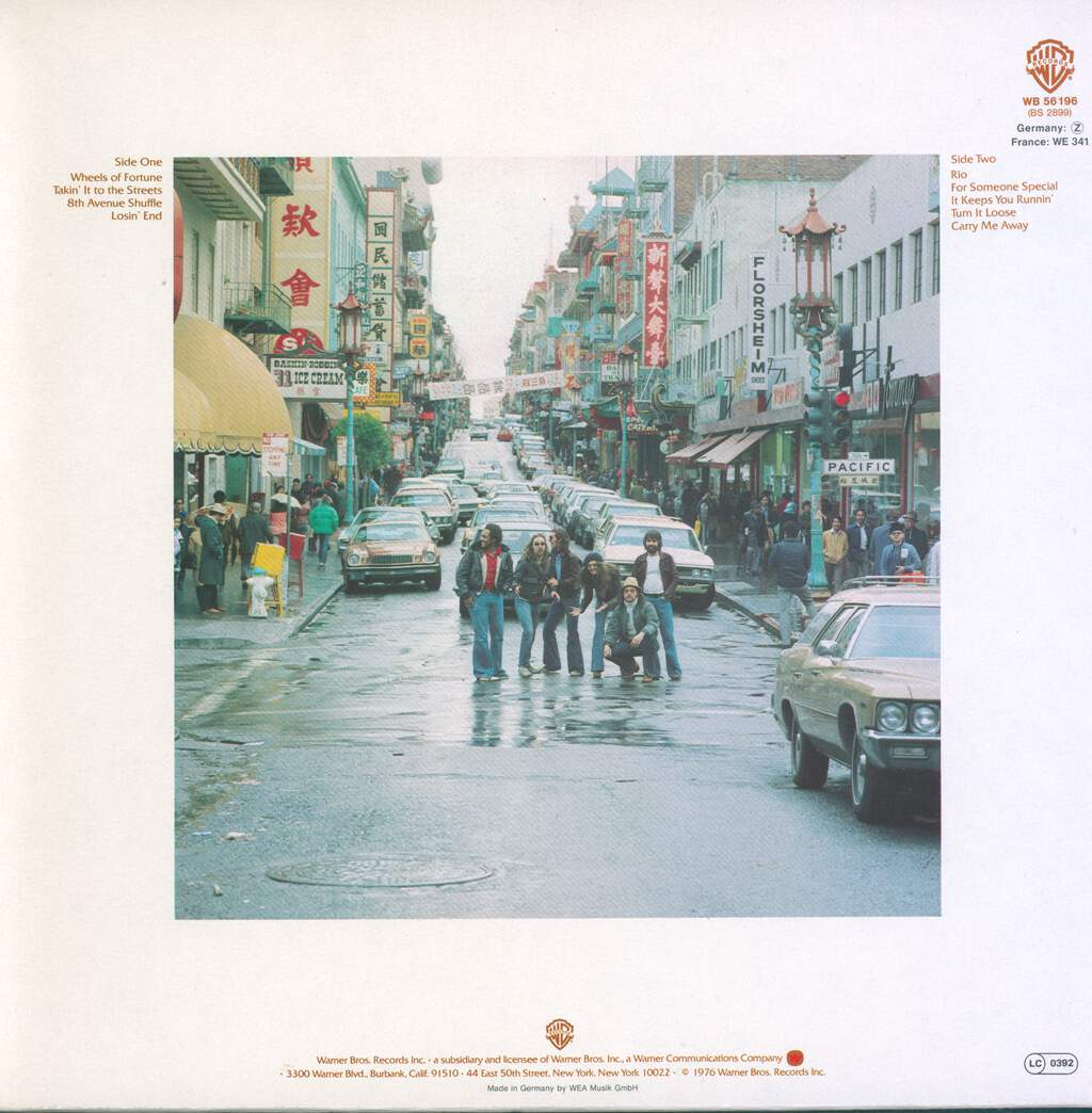 The Doobie Brothers: Takin' It To The Streets, LP (Vinyl)
