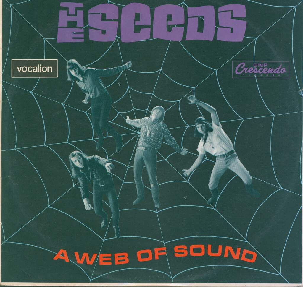 The Seeds: A Web Of Sound, LP (Vinyl)