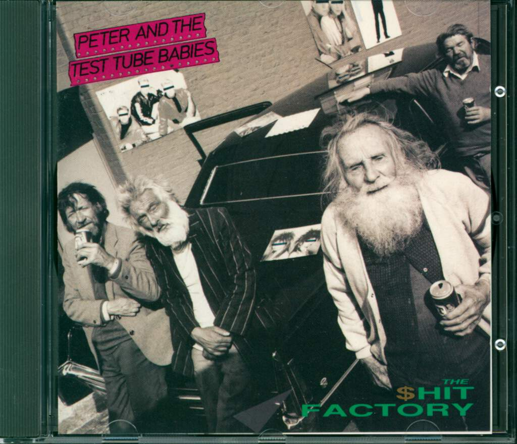 Peter And The Test Tube Babies: The $hit Factory, CD