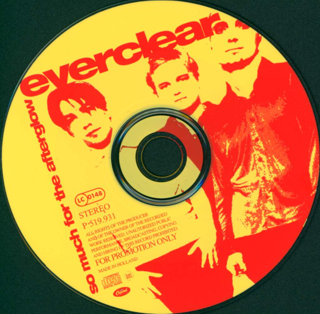 Everclear: So Much For The Afterglow, Mini CD