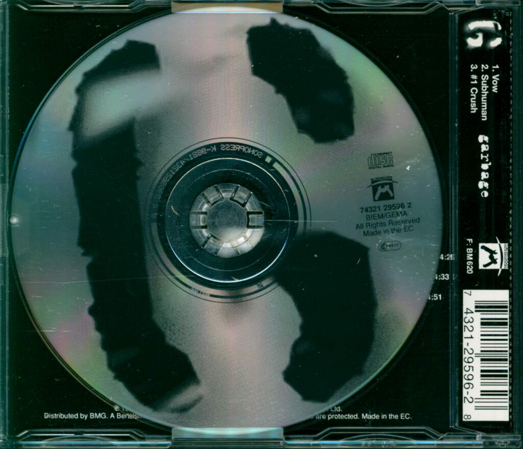 Garbage: Vow, Mini CD