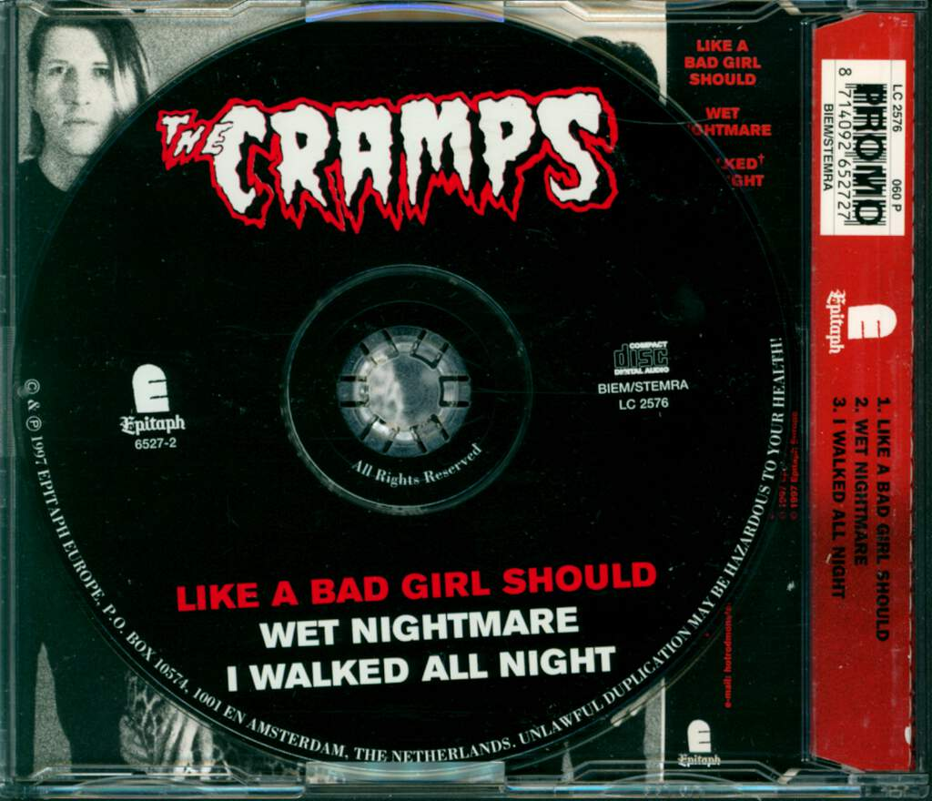 The Cramps: Like A Bad Girl Should, Mini CD
