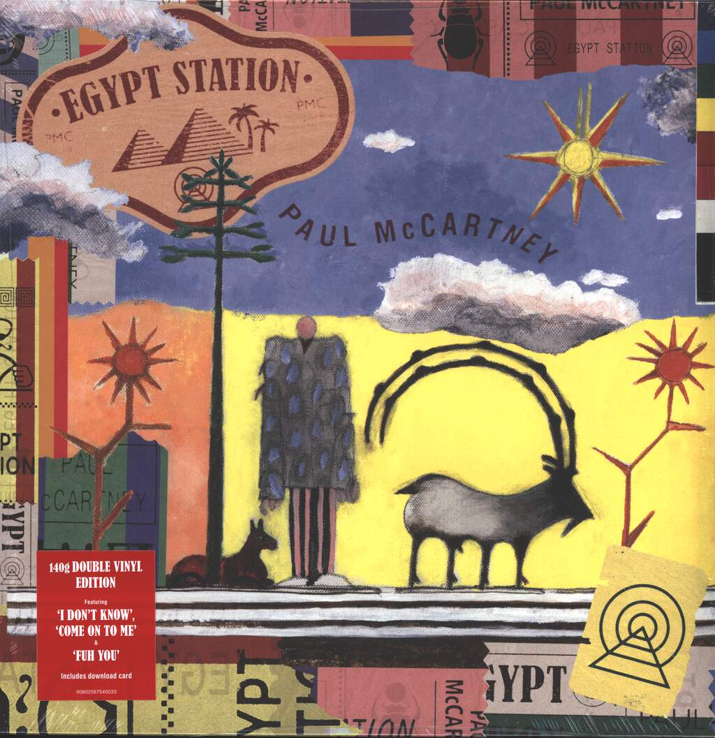 Paul McCartney: Egypt Station, 2×LP (Vinyl)