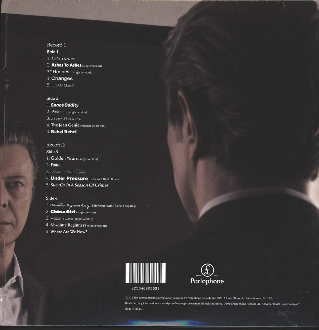 David Bowie: Nothing Has Changed, 2×LP (Vinyl)