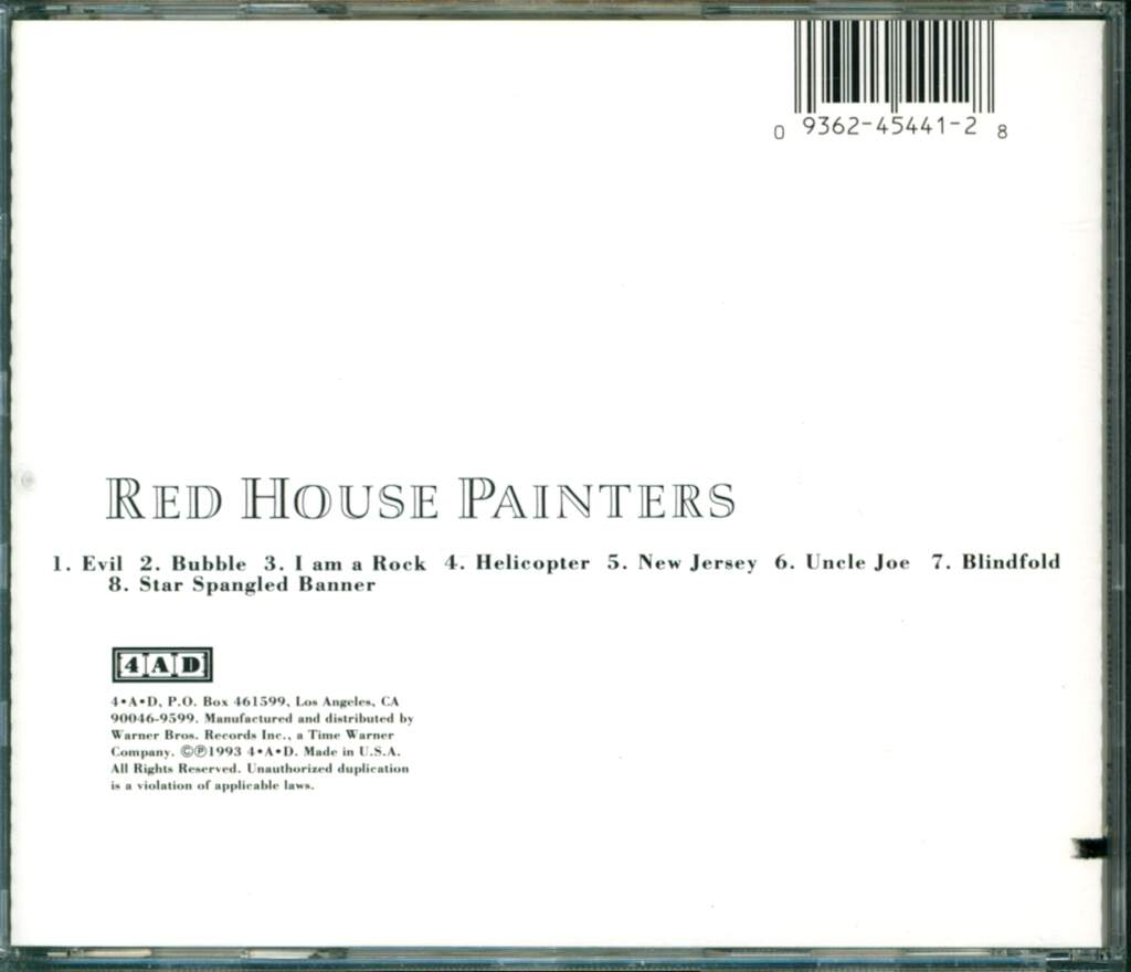 Red House Painters: Red House Painters, CD