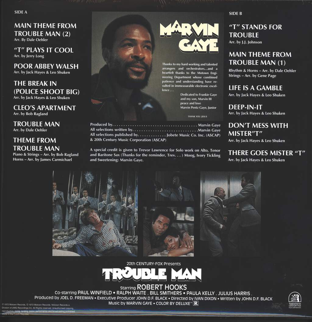 Marvin Gaye: Trouble Man, LP (Vinyl)