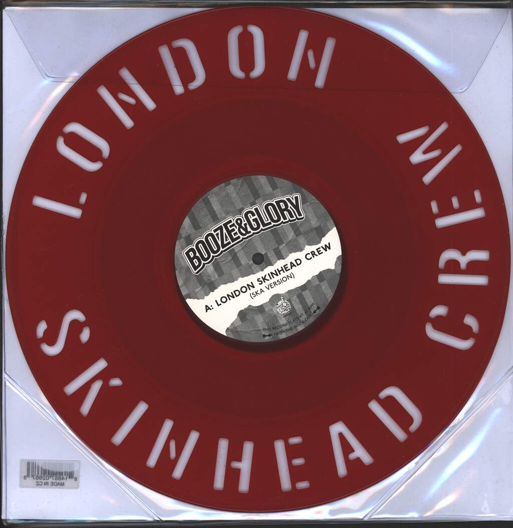 "Booze & Glory: London Skinhead Crew, 12"" Maxi Single (Vinyl)"