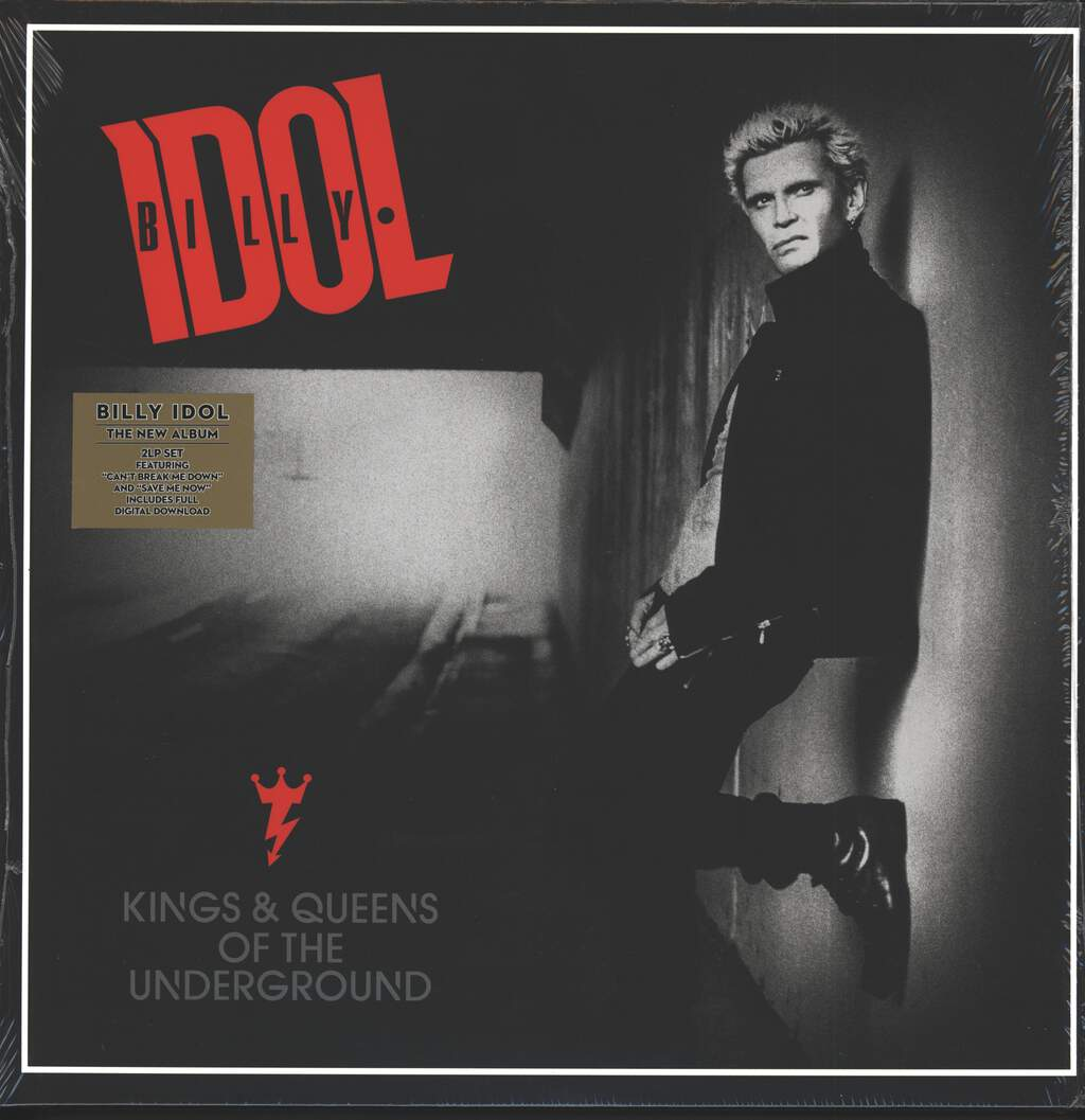Billy Idol: Kings & Queens Of The Underground, 2×LP (Vinyl)