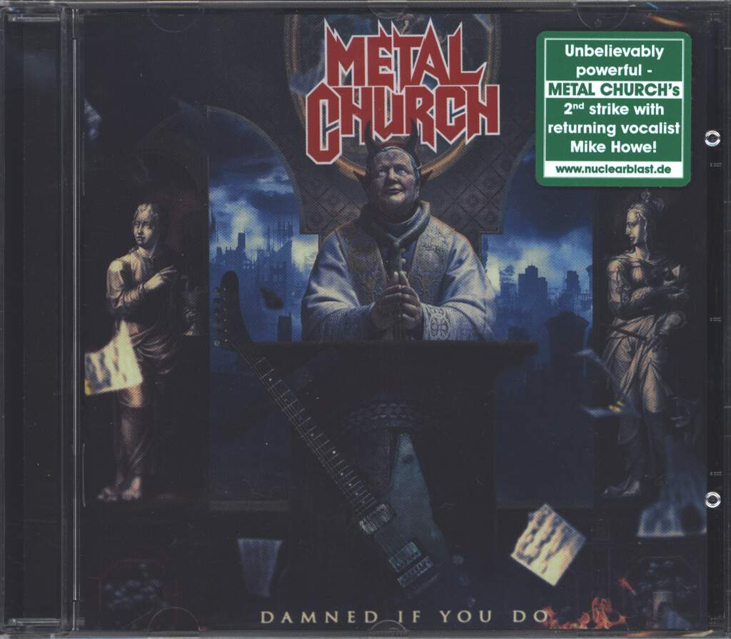 Metal Church: Damned If You Do, CD