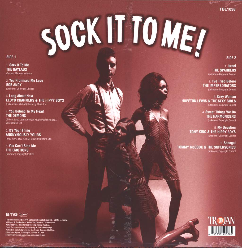 Various: Sock It To Me! Boss Reggae Rarities In The Spirit Of 69, LP (Vinyl)