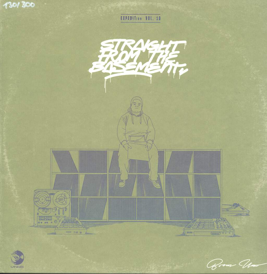 Brous One: EXPEDITion Vol. 10: Straight From The Basement, LP (Vinyl)