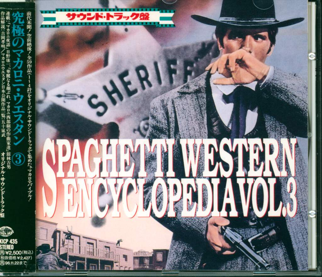 Various: Spaghetti Western Encyclopedia Vol. 3, CD