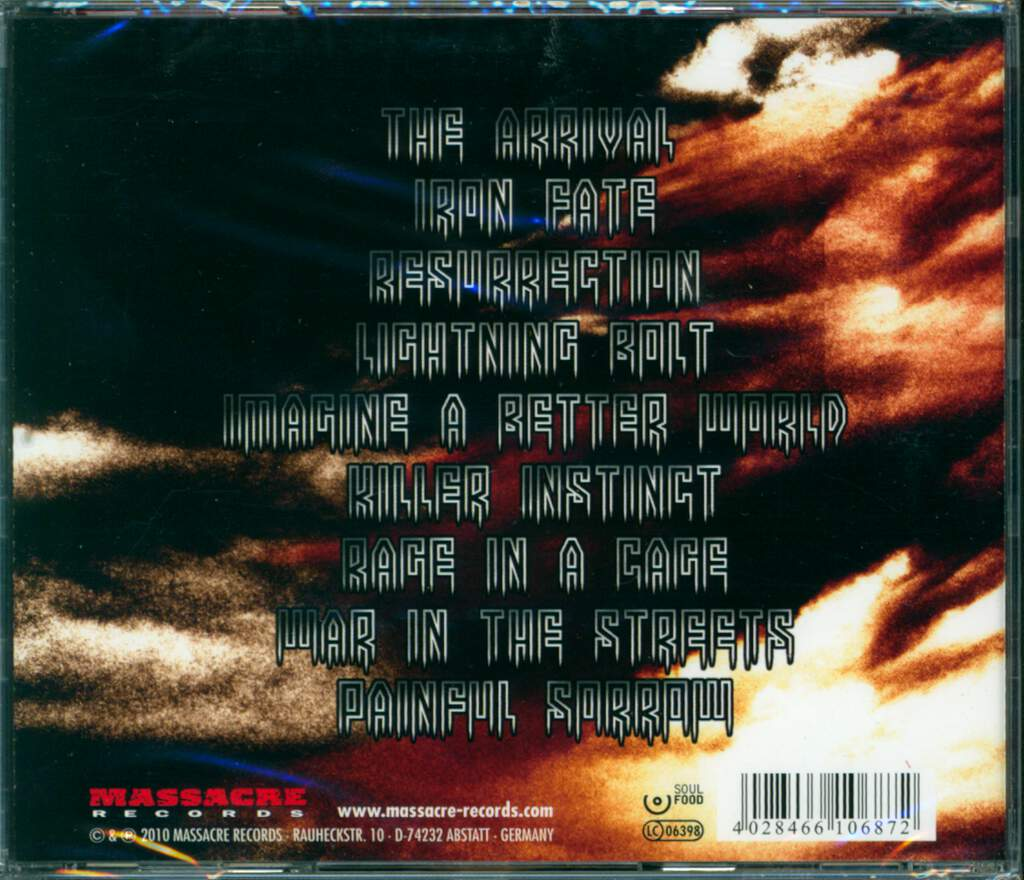 Iron Fate: Cast In Iron, CD