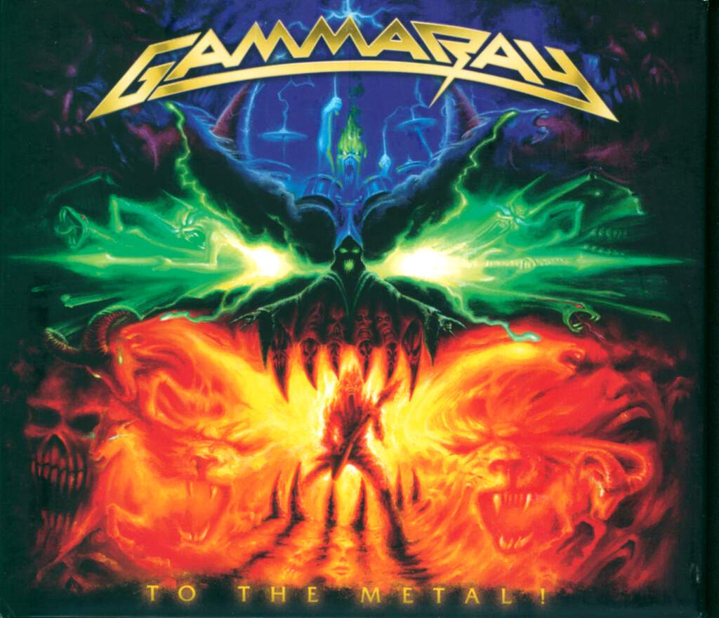 Gamma Ray: To The Metal!, CD