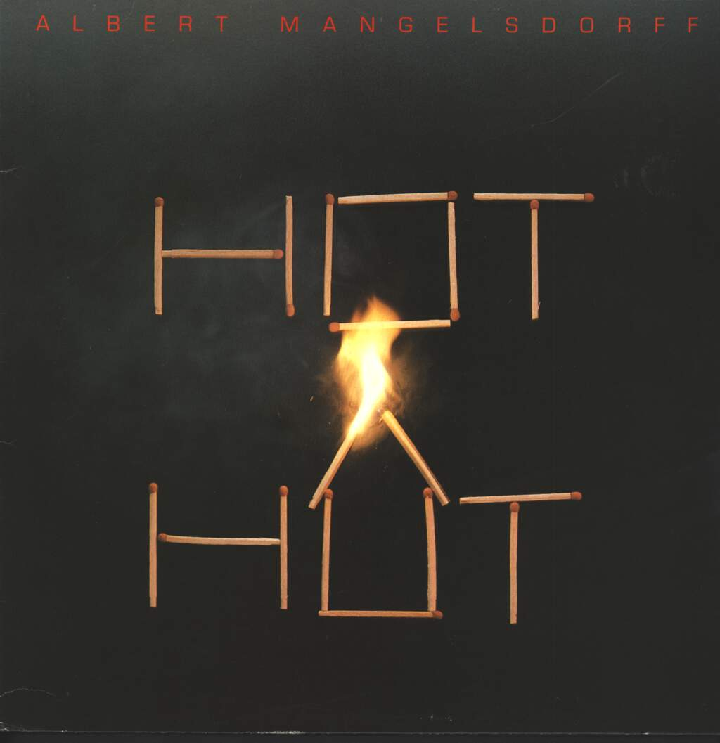Albert Mangelsdorff: Hot Hut, LP (Vinyl)