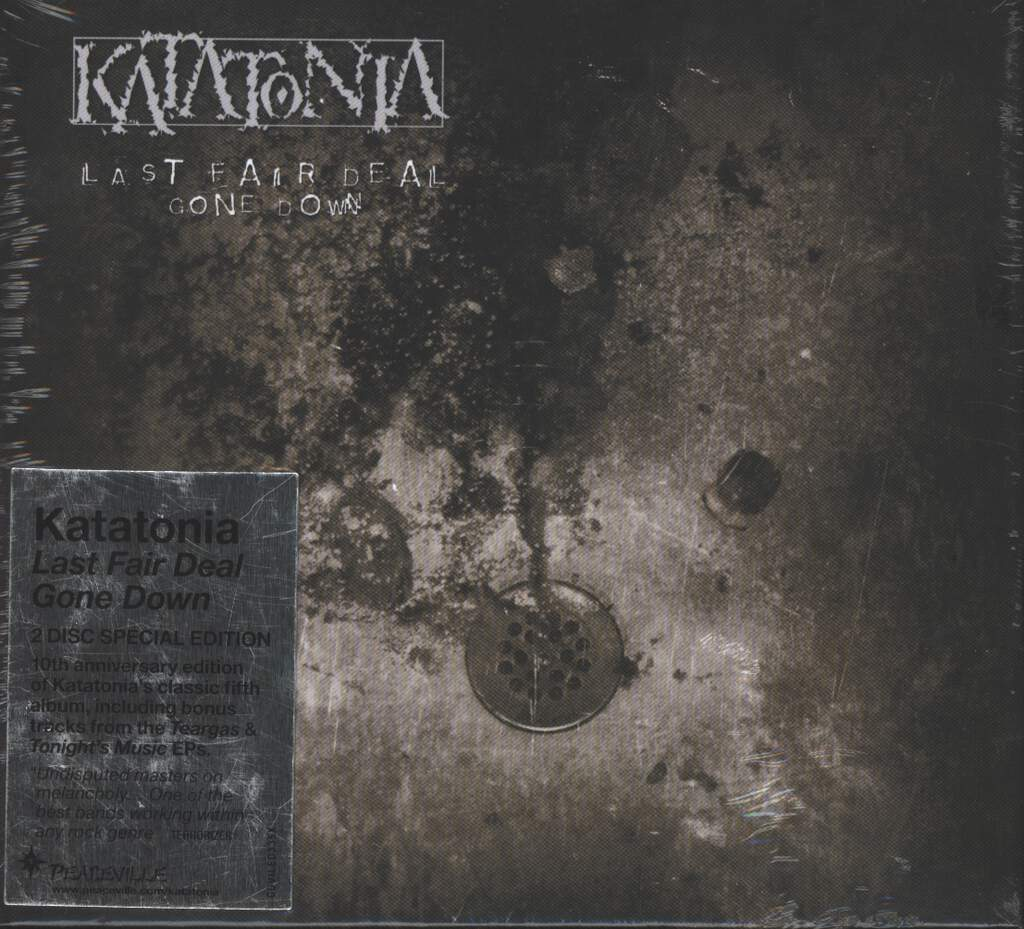 Katatonia: Last Fair Deal Gone Down, 2×CD