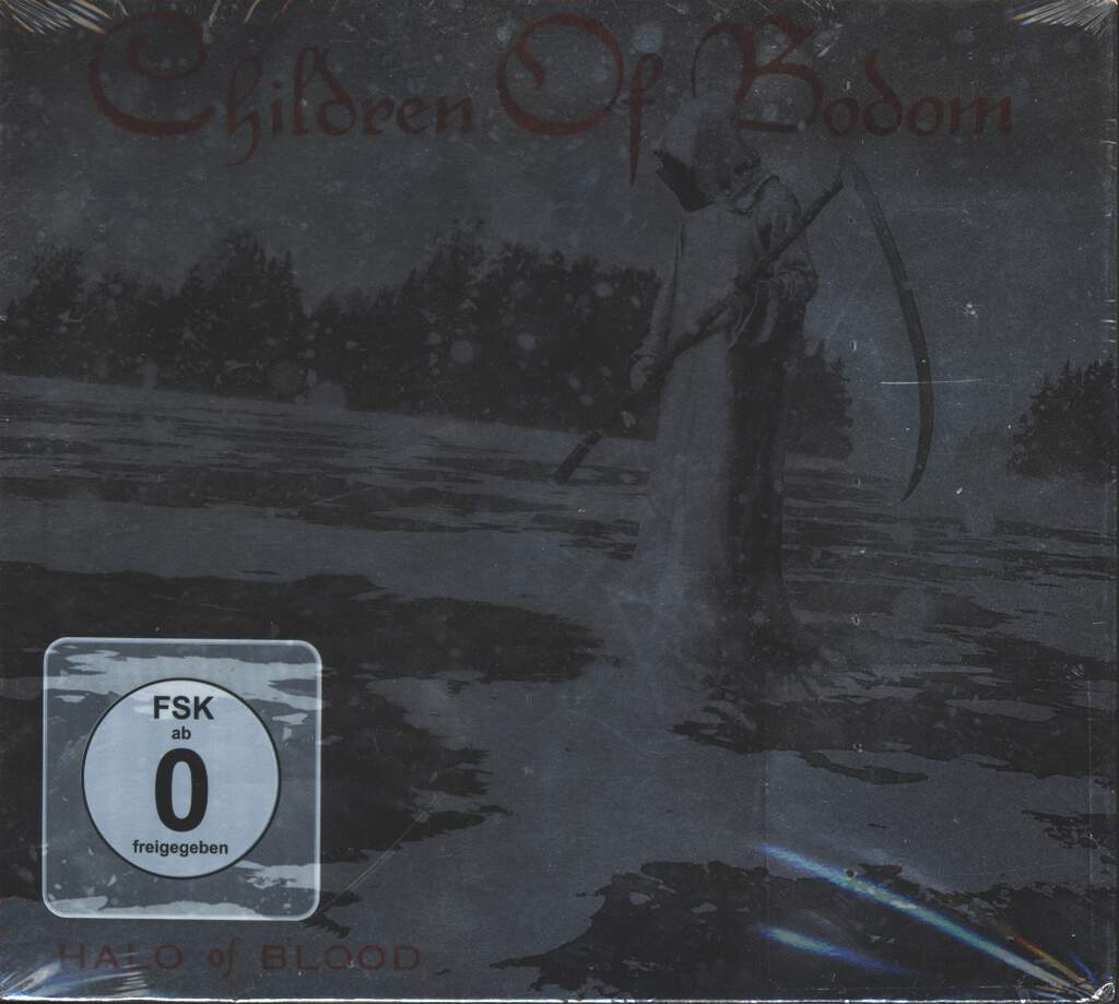 Children Of Bodom: Halo Of Blood, 2×CD